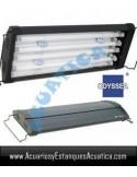 ODYSSEA T5 QUAD 150-170CM 4 X 80W + 4 LED ACUARIO DULCE