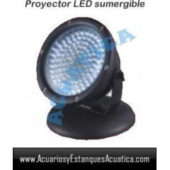 FOCO LED 60 SET X 3 SUMERGIBLE ILUMINACION ESTANQUE