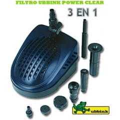 FILTRO UBBINK POWER CLEAR 5000 ESTANQUES