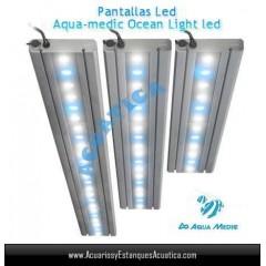 PANTALLA AQUAMEDIC OCEAN LIGHT LED 30CM 18W ACUARIOS