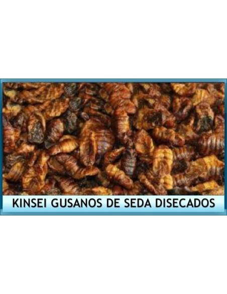 Alimento peces estanque kinsei gusanos de seda disecados for Productos para estanques de peces
