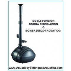 Bomba de agua Aquaking SPG estanques