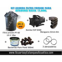 OFERTA KIT FILTRACION PRESION ESTANQUES 12.000L