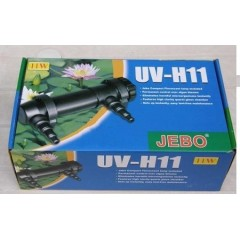 Germicida JEBO UV-H11 11w ultravioleta estanques acuarios