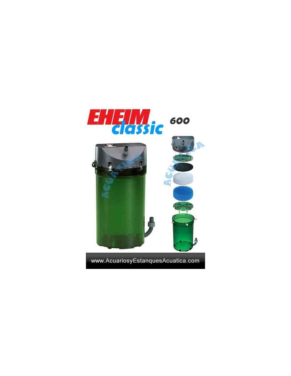 Eheim classic filtros externos acuarios acuarios y for Filtro externo para estanque