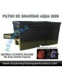 AQUA2 FILTRO GRAVEDAD ESTANQUES 2000L