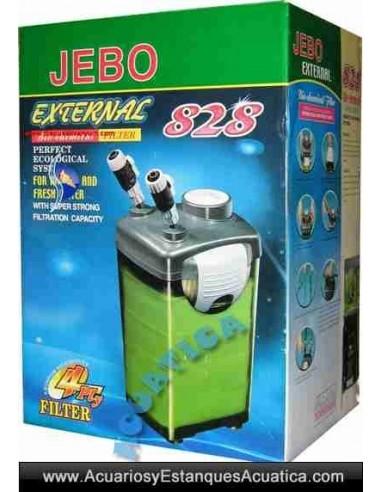 JEBO 828 FILTRO ACUARIOS EXTERNO