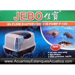 JEBO P SERIES BOMBA DE AIRE COMPRESOR ESTANQUES