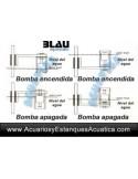 BLAU LEVEL CONTROLLER CONTROLADOR DE NIVEL AGUA ACUARIOS