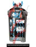 FILTRO EXTERNO TURBOJET MAX + UV ACUARIOS