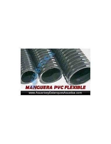 MANGUERA PVC FLEXIBLE ESTANQUES 25M