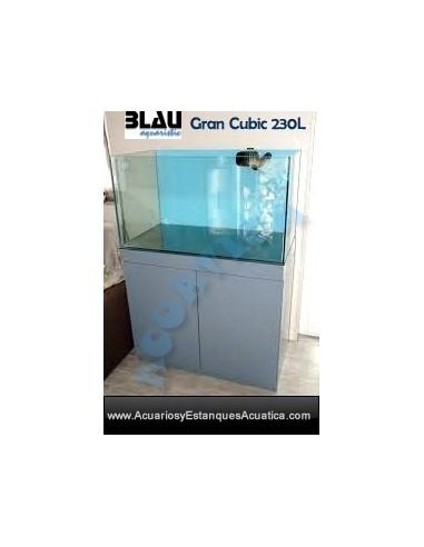 ACUARIO BLAU GRAN CUBIC 230L DULCE