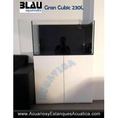 ACUARIO DULCE BLAU GRAN CUBIC 230L URNA Y MESA