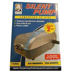 COMPRESORES SILENT PUMP ACUARIOS ESTANQUES