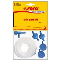 KIT TUBO ATOXICO + DIFUSOR SERA AIR SET M