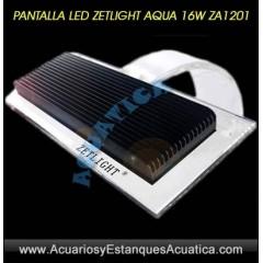 PANTALLA LED ZETLIGHT AQUA 16W ZA1200 ACUARIO DULCE