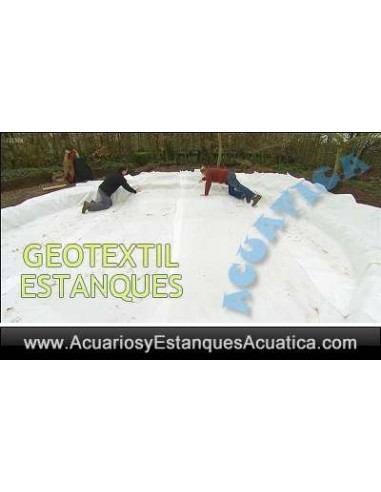 GEOTEXTIL 200grs CONSTRUCCION ESTANQUES