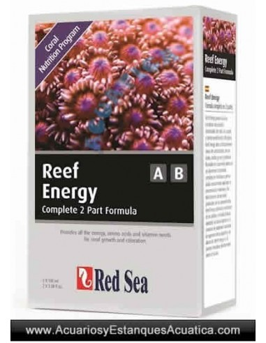 RED SEA ENERGY A Y B 2 PACK ACUARIOS MARINOS