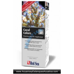 RED SEA COLORS D 500ML ACUARIOS MARINOS