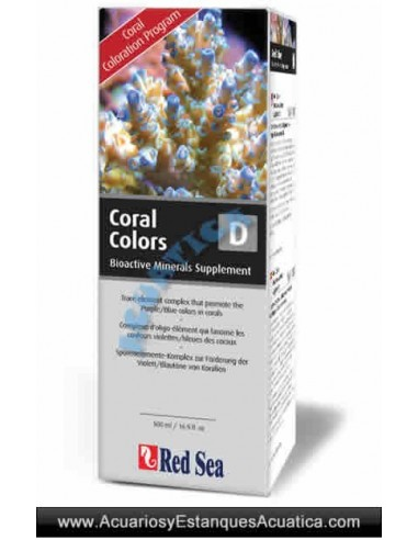 RED SEA COLORS D 500ML ACUARIOS MARINOS