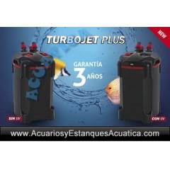 TURBOJET PLUS +UV FILTRO EXTERNO ACUARIOS
