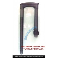 RECAMBIO TUBO ENTRADA FILTROS TURBOJET
