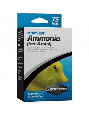 Seachem MultiTest Free & Total Amonia