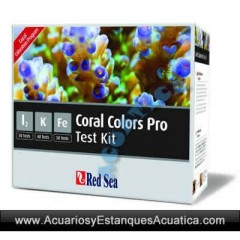 RED SEA Test Coral Colors Pro Multi Test Kit I2, K, Fe 3 en 1