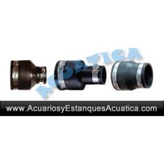 ADAPTADOR 110mm - 50mm FLEXIBLE