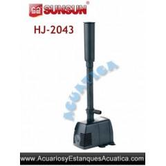 SUNSUN HJ-2043 BOMBA JUEGOS DE AGUA ESTANQUES