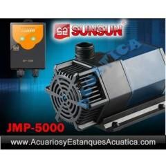 SUNSUN JMP-5000 BOMBA DE AGUA REGULABLE ESTANQUE ACUARIO