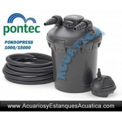 PONTEC PONDOPRESS SET 10000 FILTRACION ESTANQUES