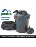 PONTEC PONDOPRESS SET 15000 FILTRACION ESTANQUES