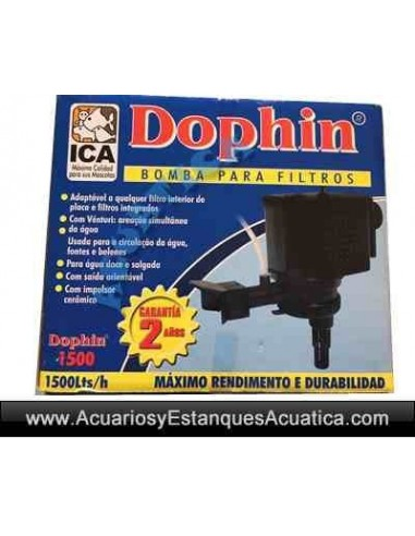 DOPHIN DP1500 BOMBA POWERHEAD 1500L/H ACUARIOS