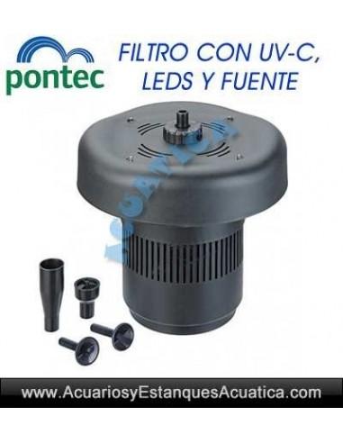 PONTEC PONDOCLEAR ISLAND 3000 FILTRACION ESTANQUES