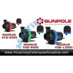 SUNPOLE MAGNUS VS BOMBAS DE AGUA REGULABLES ACUARIOS