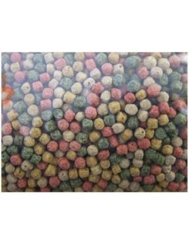 Alimento peces pellets Kinsei Mix mezcla base 6mm estanque