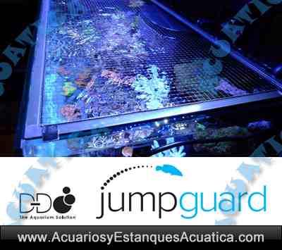 D-D JUMPGUARD TAPA A MEDIDA PARA ACUARIOS