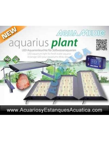AQUAMEDIC AQUARIUS PLANT LED PANTALLA ACUARIO DULCE
