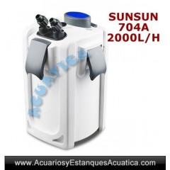 SUNSUN HW-704A FILTRO ACUARIOS EXTERNO