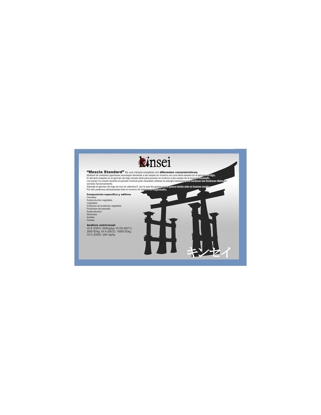 Oferta alimento peces pellets kinsei mix mezcla base 3mm for Alimento peces estanque