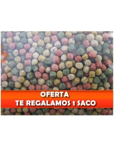 Oferta alimento peces pellets kinsei mix mezcla base 3mm for Comida para peces de estanque