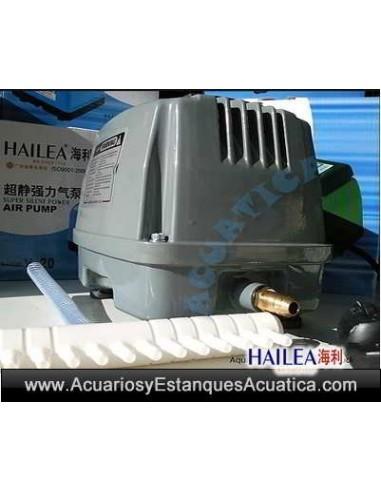 HAILEA HAP-80 Compresor Membrana Silencioso