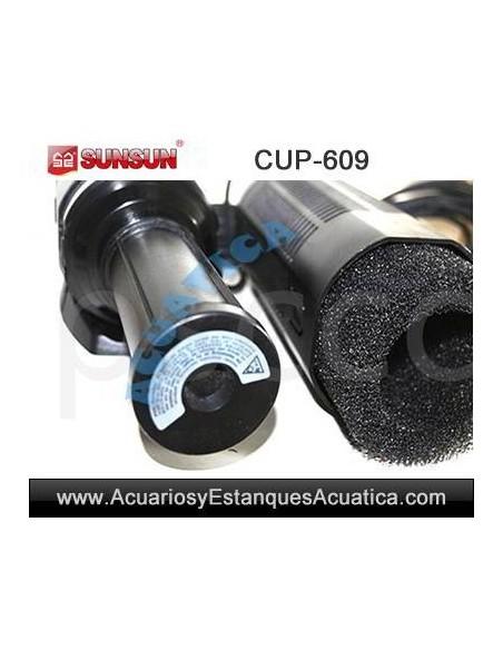 SUNSUN CUP-609 9W UV ULTRAVIOLETA CON BOMBA