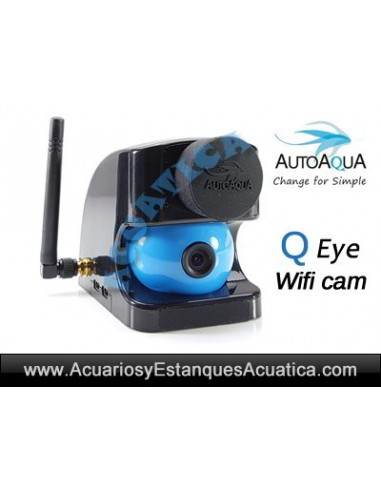 AUTOAQUA QEYE QE-100 CAMARA WIFI ACUARIOS
