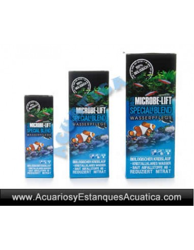 MICROBE-LIFT SPECIAL BLEND BACTERIAS ACUARIOS