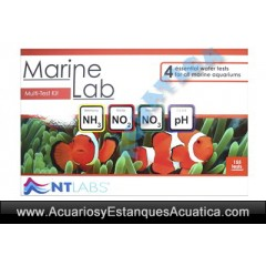 NTLABS MARINELAB MULTITEST ACUARIO MARINO