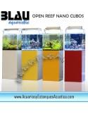 NANO ACUARIO MARINO BLAU OPEN REEF CUBO 91L Completo