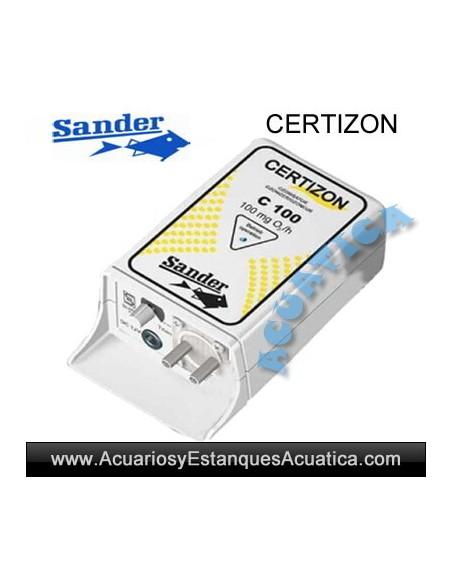 SANDER CERTIZON OZONO ACUARIO