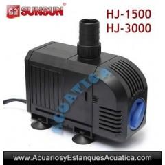 SUNSUN HJ-1100 900L/H BOMBA DE AGUA ACUARIOS ESTANQUES